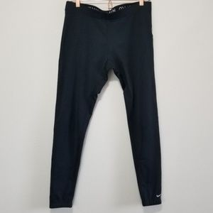 Nike fit dry, fleece lined athletic jogger (e)